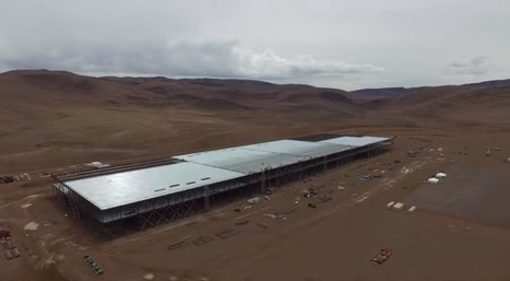 Drone flyover video shows that Tesla Gigafactory is really freakinghuge | #Sustainability | Scoop.it