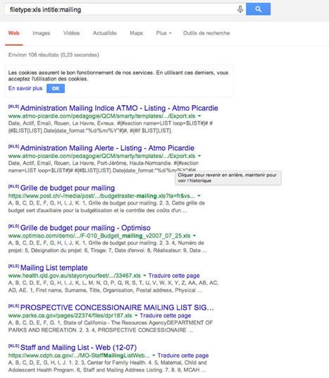 Savez-vous vraiment faire une recherche google? | Ressources pour la Technologie au College | Scoop.it