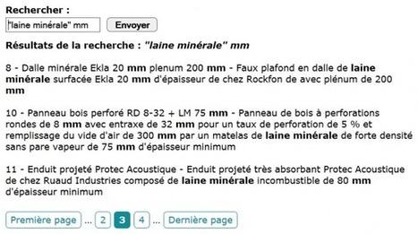 Moteur de recherche PHP Objet (POO) complet (pagination, surlignage, fulltext…) - Blog Internet-Formation - Poitiers (86) | Développement et webdesign | Scoop.it