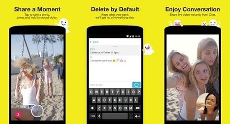 Snapchat annonce de nouvelles fonctionnalités - #Arobasenet.com   Référencement internet   Scoop.it