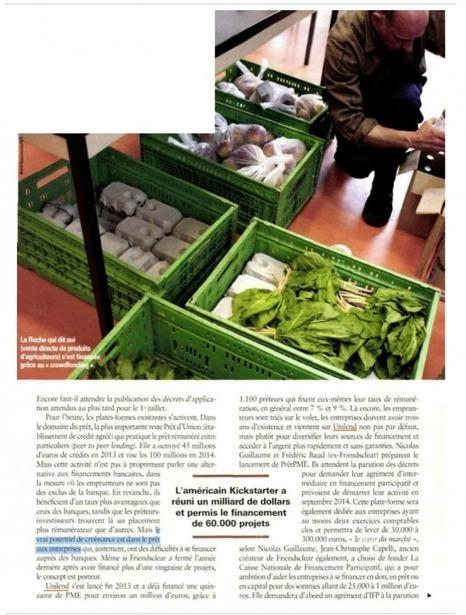 Article Agefi Hebdo | Unilend | Scoop.it