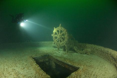 19 Underwater Photos of Lake Erie Ship Wrecks • Galleries | Cleveland Scene | DiverSync | Scoop.it