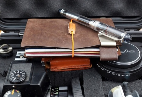 Midori Traveler's Notebook - DYSong Photography | The Romance of Analogue | Scoop.it