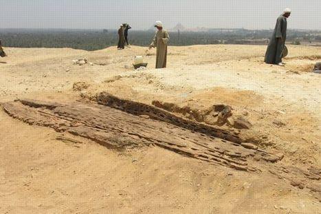 Des Français découvrent la plus ancienne barque d'Égypte   Histoire et Archéologie   Scoop.it