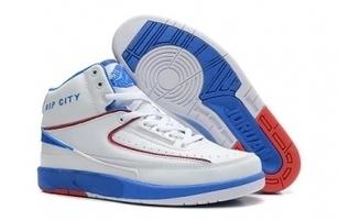 Cheap Nike Jordan 2 White and Blue Shoes For Sale Online - SportsYTB.Com | Cheap Nike Air Jordan Shoes,Cheap Nike Sneakers | Scoop.it
