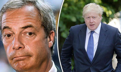 'We have to keep the pressure on' Farage warning over Boris' EU 'backtracking | Welfare, Disability, Politics and People's Right's | Scoop.it