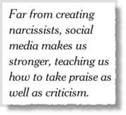 Is Social Media Turning us into Narcissists? - Jeffbullas's Blog | Articles We Find Interesting | Scoop.it