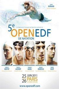 Ce Week-end, le 25 et le 26 juin venez nombreux supporter la team EDF lors l'Open EDF de Natation. | Le groupe EDF | Scoop.it