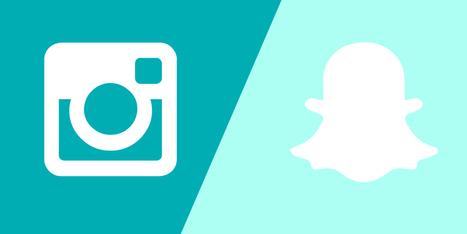 Brand & Fashion Week: Instagram Stories vs Snapchat | Inside Marketing | Scoop.it