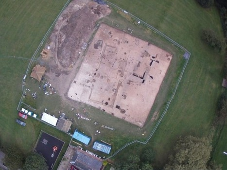 Anglo-Saxon feasting hall discovered in Kent | Reading for English language learners | Scoop.it