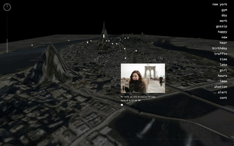 Invisible Cities: A Transmedia Mapping Project | Tracking Transmedia | Scoop.it