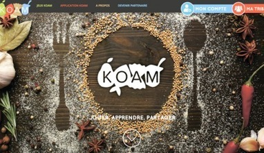 KOAM, 1ère plateforme ludique d'éducation alimentaire pour les jeunes | Interaction Healthcare | Jeux educatifs | Scoop.it