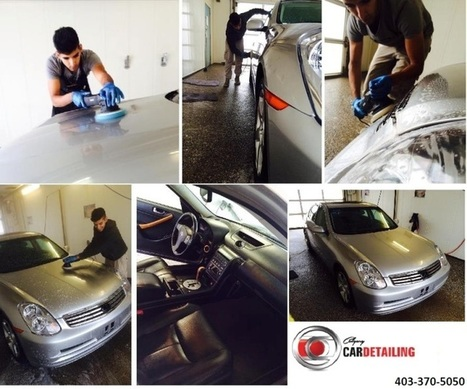 How Detailing Help in Restoring Car Paint | Calgary Car Detailing – Home of Premium Auto Detailing Services | Scoop.it
