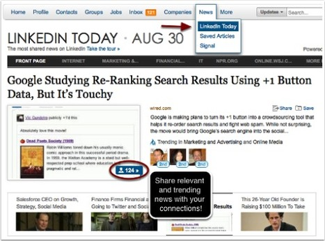 5 Simple Steps for Improving Your LinkedIn Visibility | BUSINESS and more | Scoop.it