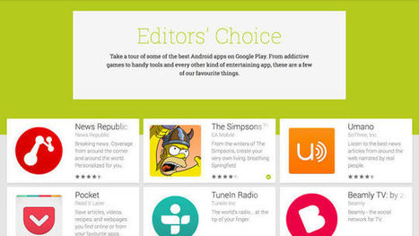 Find The Very Best Apps For Your Smartphone or Tablet | Google, Apps, WebDev, UX | Scoop.it