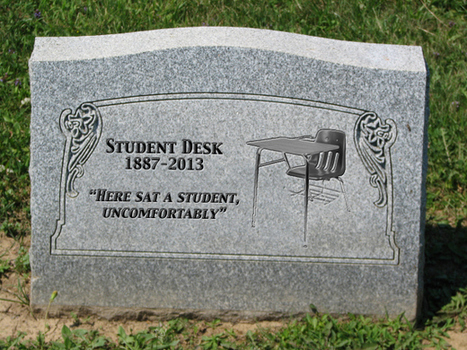 The Obituary of the Student Desk 1887-2013 | Technology in Education | Scoop.it