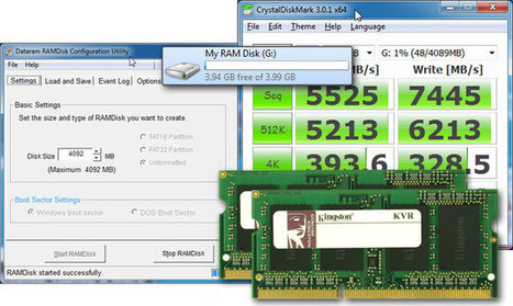 Faster Than an SSD: How to Turn Extra Memory Into a High performance RAM Disk | pdxtech-info | Scoop.it