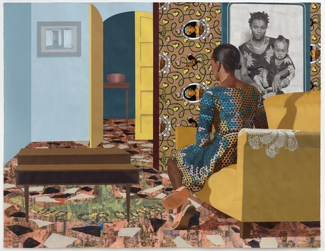 Njideka Akunyili Crosby: Portals | Gender and art | Scoop.it