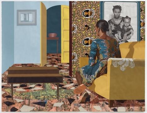 Njideka Akunyili Crosby: Portals | Gender and art | Scoop.it