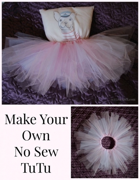 No Sew Tutu Dress Tutorial {Make Your Own} | Crochet Crochet Crochet.... | Scoop.it