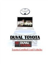 Toyota Certified Used Vehicles.doc | Duval Toyota 2014 | Scoop.it