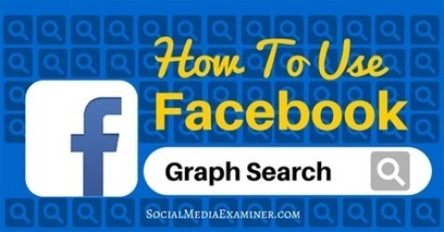 How to Use Facebook Graph Search to Improve Your Marketing | Email Marketing | Scoop.it