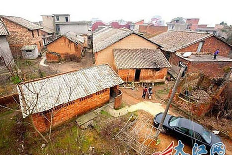 "Multimillionaire Builds New Homes for Everyone In His Old Town to Say ""Thank You"" 