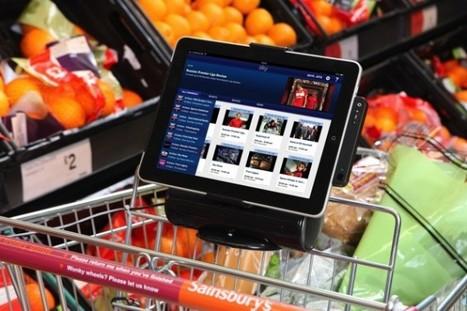 Angleterre : Des iPads intégrés aux chariots des supermarchés | Mobile - Mobile Marketing | Scoop.it