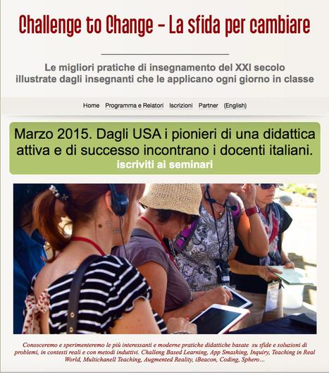 Challenge to Change ... la sfida didattica! | iClass: la classe del futuro | Scoop.it
