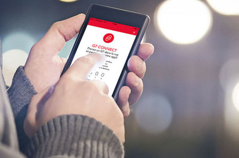 Paiement mobile, trajets partagés, wifi embarqué, bouton connecté… Les taxis G7 poursuivent leur transformation   Mobiles Idées   Scoop.it