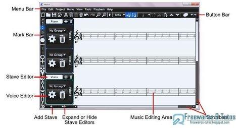 Musink : un logiciel gratuit de composition musicale | réseaux sociaux et pédagogie | Scoop.it