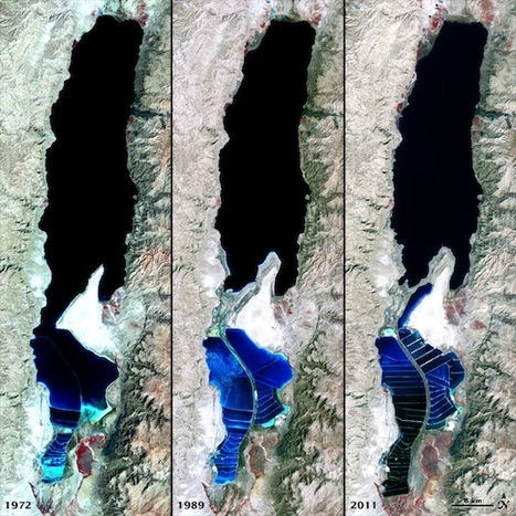 NASA photos show Dead Sea dying | The Glory of the Garden | Scoop.it