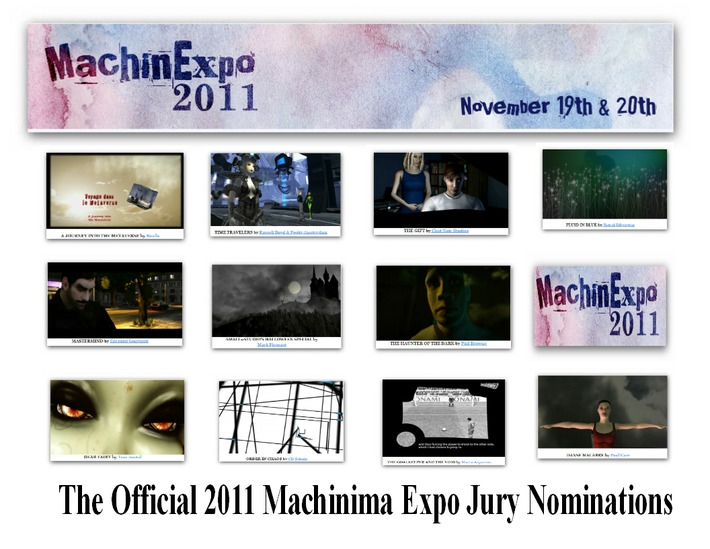 The MachinExpo 2011 - The Official 2011 Machinima Expo Jury Nominations | Machinimania | Scoop.it