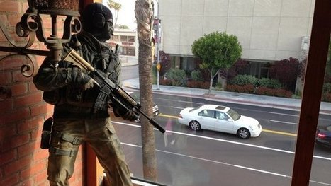 LAPD confronts Call of Duty 'Ghost' statue in tense standoff | All Geeks | Scoop.it