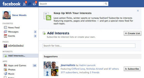 Content Curators Needed: Facebook's Interest Lists Unveiled - Technorati | Content Marketing & Content Curation Tools For Brands | Scoop.it
