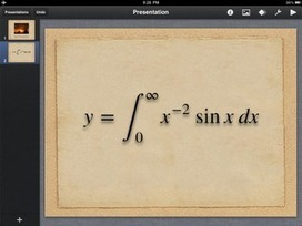 iPad Apps for Science: Equation editor for iPad - MathBot | Edtech PK-12 | Scoop.it