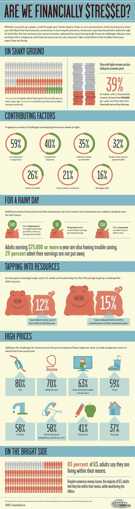 Infographic: Are We Financially Stressed? | Consumer Shopping Habits | Scoop.it