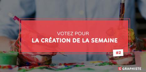 Votez pour la création de la semaine #2 - Graphiste.com | Web Increase | Scoop.it