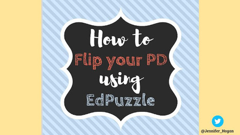 An easy and awesome tool to flip your PD | Mobile Learning | Scoop.it