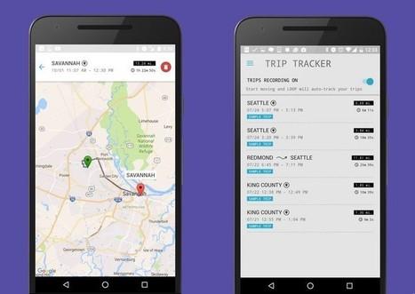 Trip Tracker, la nouvelle appli de Microsoft qui vous suit à la trace | Applications Iphone, Ipad, Android et avec un zeste de news | Scoop.it