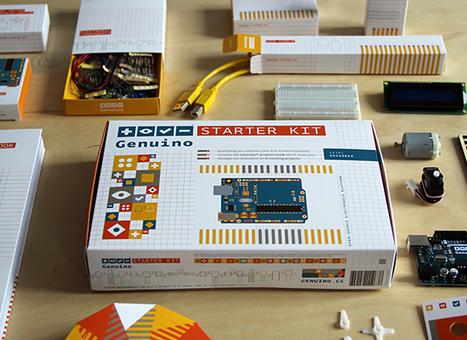 Arduino Blog » Blog Archive » Arduino team (proudly) presents Genuino Starter Kit! | Arduino, Netduino, Rasperry Pi! | Scoop.it