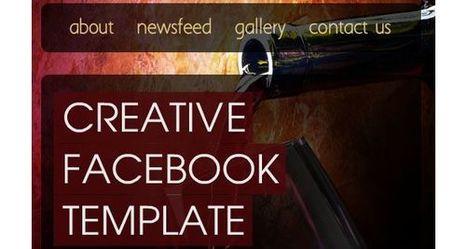 10 Best Facebook Fanpage Flash Templates | Gideond Favorite Links | Scoop.it
