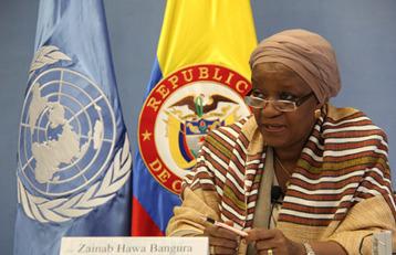 Comunicado de la Representante Especial del Secretario General, Zainab Hawa Bangura, sobre la violencia sexual en los conflictos, Colombia. | Genera Igualdad | Scoop.it