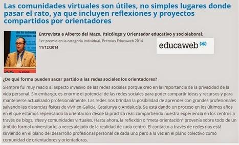 Hablando de Redes y Orientación Educativa en los medios   Orientación Educativa - Enlaces para mi P.L.E.   Scoop.it