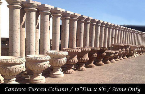 Cantera stone column designs add class and elegance to any given architecture:   Cantera Stone   Scoop.it