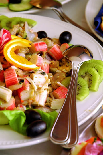 Simple, Versatile Exotic Fruit Krab Salad | Amazing Appetizer Recipes | American Food | Scoop.it