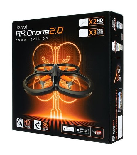 Parrot AR.Drone 2.0 Power Edition Quadricopter With Live Video Streaming and HD Video Recording | Kid-FreeLiving.Com Kids Toys and Games | What's Interesting and Trending Around The Web, United States and The World | Scoop.it