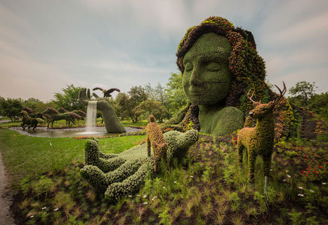 Mind-boggling Plant Sculptures | Cool Art | Scoop.it