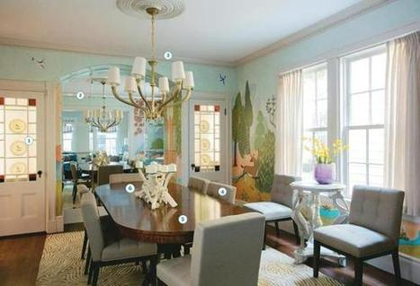 Enchanted dining room - Boston Globe   Interior Design Cambridge   Scoop.it
