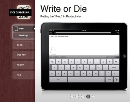 Write or Die by Dr Wicked | Putting the 'Prod' in Productivity | Teaching in the XXI century | Scoop.it